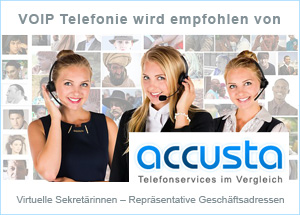 Liste professioneller Call Services